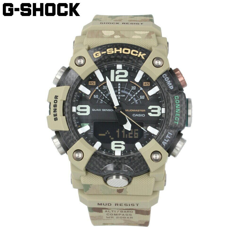 腕時計, メンズ腕時計 CASIO G-SHOCK GG-B100BA-1A MUDMASTER Brithsh Army G
