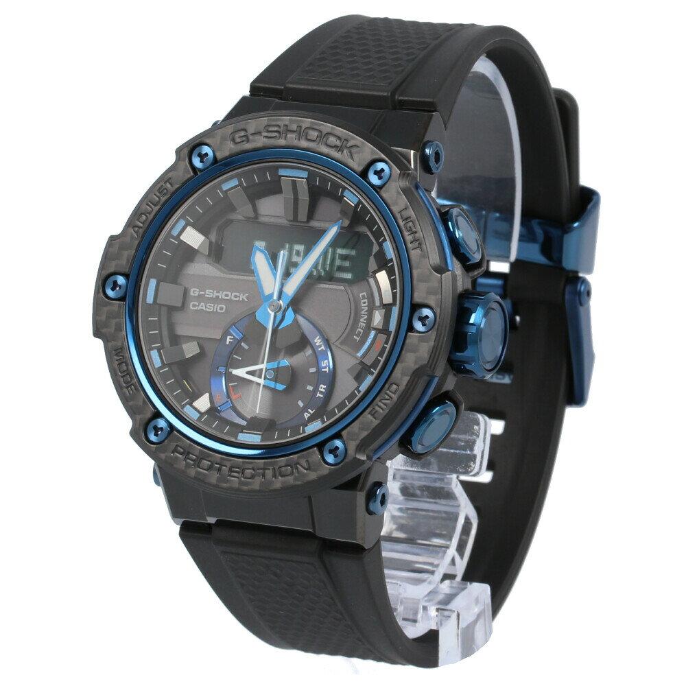 腕時計, メンズ腕時計 CASIO G-SHOCK GST-B200X-1A2 Bluetooth G-STEEL