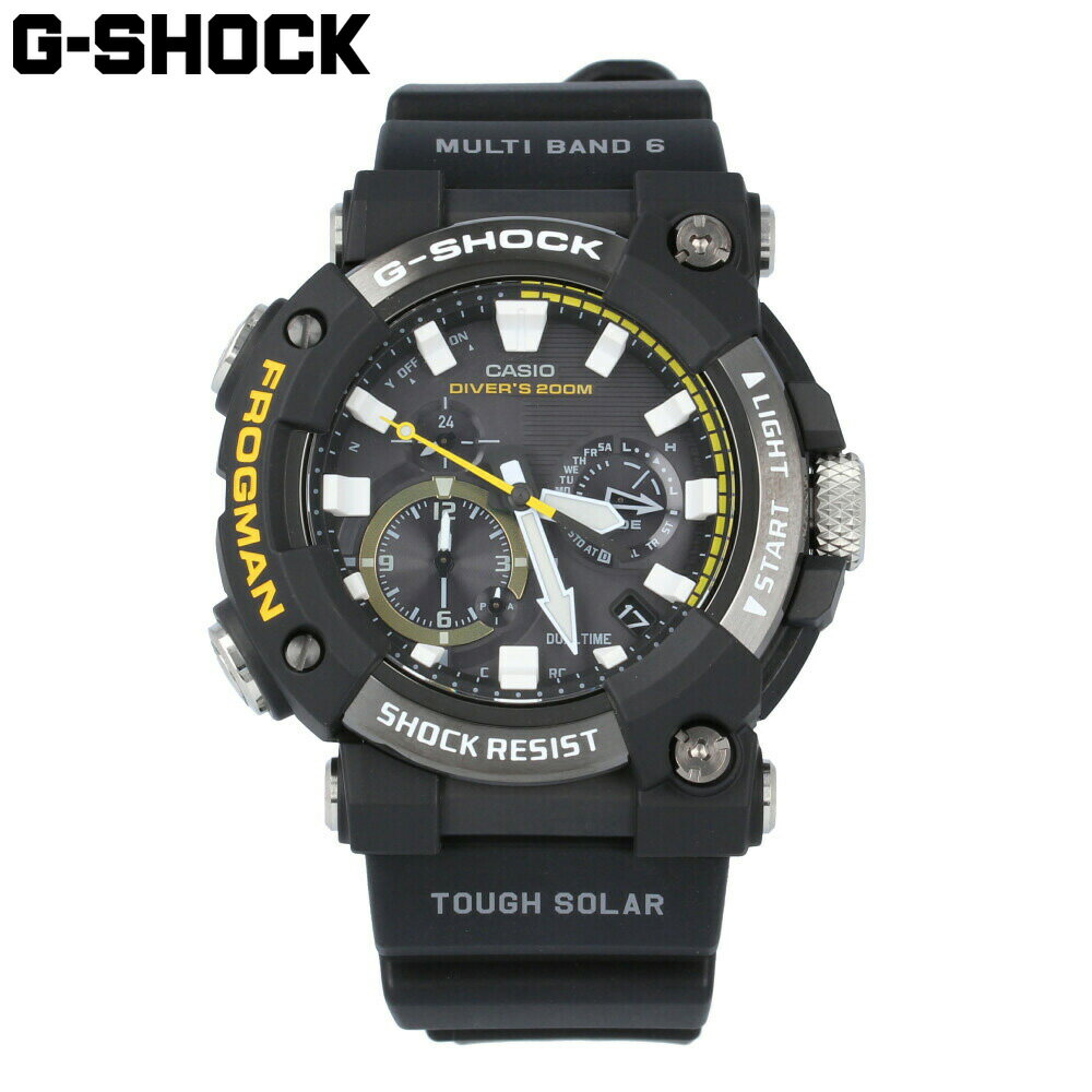 腕時計, メンズ腕時計 CASIO G-SHOCK G G MASTER OF G FROGMAN Bluetooth GWF-A1000-1A 1