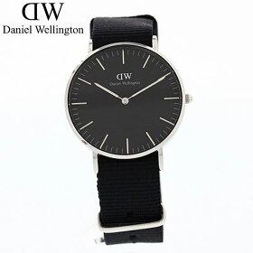 DanielWellington/ダニエルウェリントンClassicBlackCornwallDW0010015136mm腕時計黒文字盤NATO【対応_東海】
