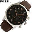 FOSSIL / フォッシル FS4873腕時計/レザーベルト/メンズTownsman Chronograph 【あす楽対応_東海】