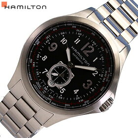 HAMILTON/ハミルトンH76655133自動巻きカーキアビエーションQNE44mm【_包装】