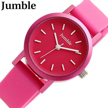 JUMBLE / ジャンブル JMST05-PK腕時計 レディース・キッズにおすすめサイズ カラフルラバーウォッチ【あす楽対応_東海】