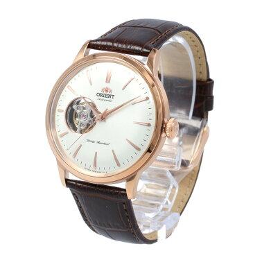 【全商品ポイント10倍!楽天スーパーセール】ORIENT / オリエント RN-AG0004S CLASSIC クラシック 腕時計 メンズ 自動巻き レザー ローズゴールド セミスケルトン シースルーバック 【あす楽対応_東海】