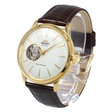 【全商品ポイント10倍!楽天スーパーセール】ORIENT / オリエント RN-AG0006S CLASSIC クラシック 腕時計 メンズ 自動巻き レザー ゴールド セミスケルトン シースルーバック 【あす楽対応_東海】