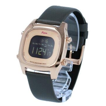 SEIKO セイコー / fusion フュージョン ALBA アルバ AFSM404腕時計 メンズ レディース ユニセックス デジタル レザー ピンクゴールド 【あす楽対応_東海】