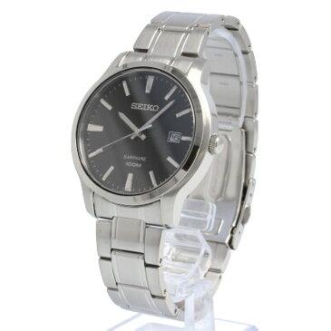SEIKO / セイコー SGEH41P ネオクラシック サファイア 腕時計 メンズ ステンレス ブラック シルバー 【あす楽対応_東海】