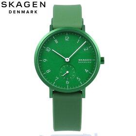 SKAGEN/スカーゲンSKW2804AarenKulorアーレンカラー腕時計レディースグリーンアルミシリコン【あす楽対応_東海】