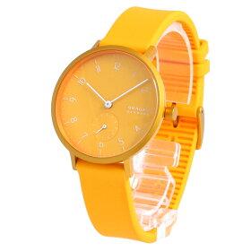 SKAGEN/スカーゲンSKW2808AarenKulorアーレンカラー腕時計レディースイエローアルミシリコン【あす楽対応_東海】