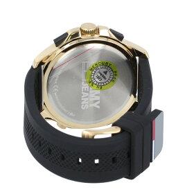 TOMMYHILFIGER/トミーヒルフィガー1791762腕時計メンズアナログデジタルラバーブラックゴールドトミージーンズTommyJeans【あす楽対応_東海】