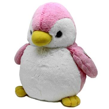 オーロラワールド パウダーキッズ ペンギン L ピンク (ぬいぐるみ)【ネコポス不可】