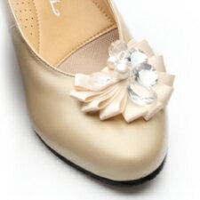 時見の靴/コサージュ