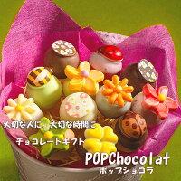 送料無料チョコレートギフトポップショコラ詰め合わせ12本