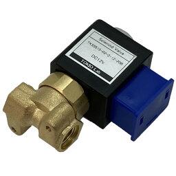 電磁弁 直動型2ポート ソレノイドバルブ 空気・水・蒸気・温水・油用 DC12V TKS5515-02-2-12-20B