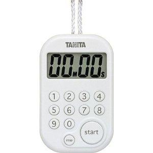 百利達(TANITA)數字計時器數字計時器100分計TD-379(白)