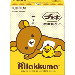 FUJIFILMinstaxmini25チェキリラックマフィルム50枚付【7月19日新発売】
