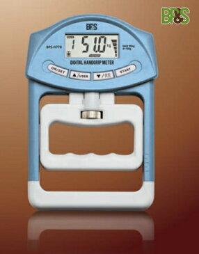 BPS デジタルハンドグリップメーター BPS-H77B(ブルー)健康器具 握力計