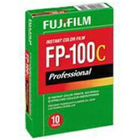 富士フイルム証明用インスタントカラーフィルム10枚撮りFUJIFILM FP-100C (英文タイプ)