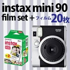 富士フイルム チェキ instax mini90 ネオクラシック フィルム20枚付