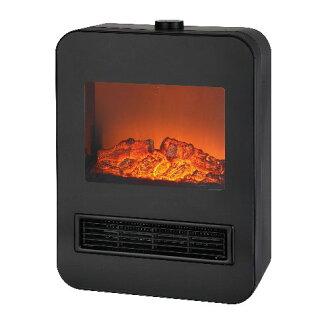科技壁爐陶瓷暖風機 1200 W 黑 TEKNOS TD S1201 (BK)