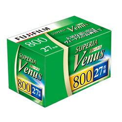 富士膠片 彩色負片 FUJIFILM  Negative film SUPERIA Venus 800 27EX [135 VNS 800-S 27EX 1]