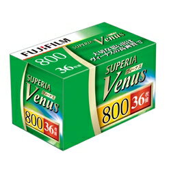FUJIFILM  富士 富士 彩色 負片 FUJICOLOR color Negative film SUPERIA Venus ISO800 36EX (135 VNS 800-S 36EX 1)