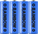 充電池 BPS RAINBOW 単3形充電池 ニッケル水素充電池(2100mAh)BPS-3NIJI 4Pブルー