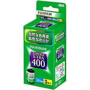 富士膠片 富士彩色 負片 軟片 FUJIFILM Color Negative film FUJICOLOR SUPERIA X-TRA400 135 24EX ISO400 3Pack