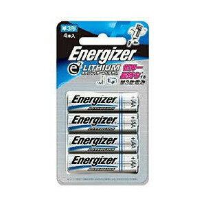 シック エナジャイザー(ENERGIZER) 単3形4本リチウム乾電池 FR6ELU 4B