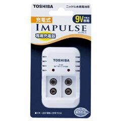 【3500円以上のお買い上げで送料無料!】TOSHIBA 充電式IMPULSE インパルス 6P形専用充電器 TNH...