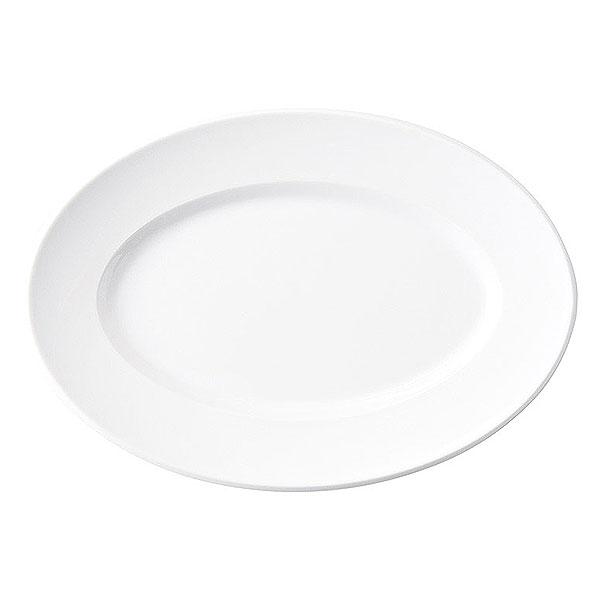 スパダ ピュアホワイト 27.5cmプラター 洋食器 変形プレート 25cm以上 日本製 美濃焼 業務用 おしゃれ 皿 お皿 かわいい ワンプレート パスタ皿 大皿 中皿 オードブル皿 カフェ風 cafe風 おしゃれ 54-11600047