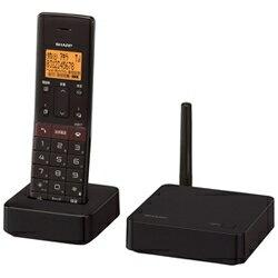 シャープJD-SF1CLT(ブラウン)_デジタルコードレス留守番電話機_子機1台