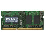 バッファロー MV-D3N1600-L4G DDR3 PC3L-12800 204Pin S.O.DIMM 4GB