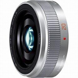【長期保証付】パナソニック LUMIX G 20mm/F1.7 II ASPH.(シルバー)