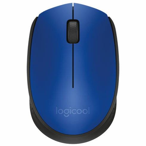 ロジクール M171BL(ブルー/ブラック) 2.4GHz 光学式マウス 3ボタン