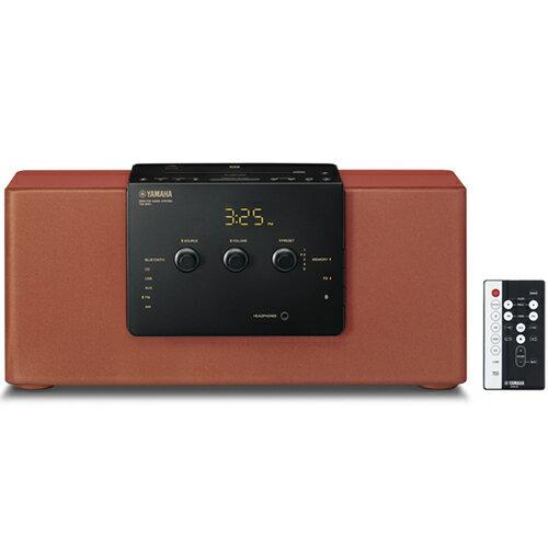 ヤマハ TSX-B141-RR(ブリック) デスクトップオーディオシステム Bluetooth/ワイドFM対応