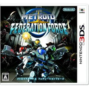 任天堂 3DS メトロイドプライム フェデレーションフォース