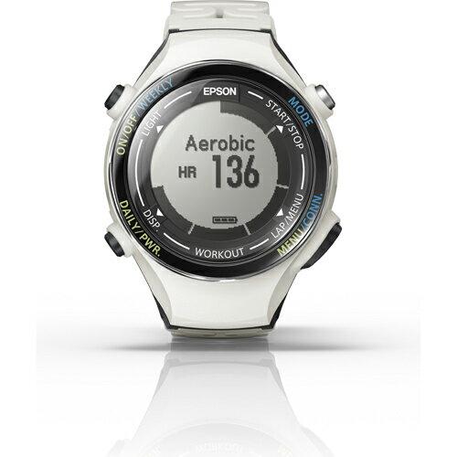 エプソン SF-850PC(クールホワイト) Wristable GPS ランニングギア 腕時計タイプ:特価COM