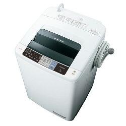 日立NW-80A-W(ピュアホワイト)_白い約束_全自動洗濯機_上開き_洗濯8kg