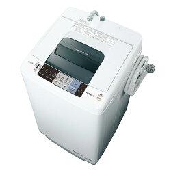 日立NW-70A_W(ピュアホワイト)_白い約束_全自動洗濯機_上開き_洗濯7kg