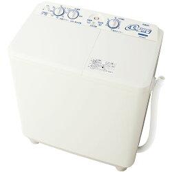 アクアAQW-N451-W(ホワイト)_二槽式洗濯機_洗濯/脱水4.5kg