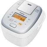 パナソニック SR-PA107-W(ホワイト) 可変圧力おどり炊き 可変圧力IHジャー炊飯器 5.5合