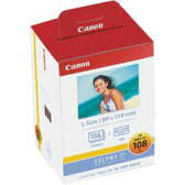 CANON KL-36IP 3PACK カラーインク/ペーパーセット L判 108枚分