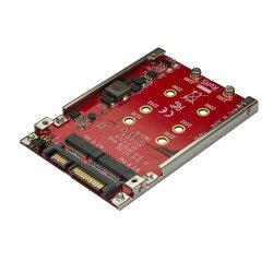 StarTechS322M225R_デュアルM.2_-_SATA変換アダプタ_RAID