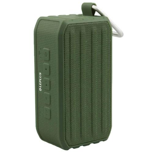 MSソリューションズ LP-SPBT04GR(グリーン) TANK ROVER ワイヤレス 防滴スピーカー Bluetooth接続