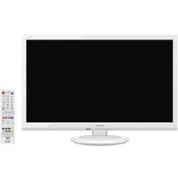 シャープ2T-C24AD-W(ホワイト)_ハイビジョン液晶テレビ_24V型
