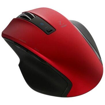 ナカバヤシ MUS-BKF131R(レッド) Bluetooth 5ボタンBlueLEDマウス