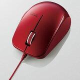エレコム M-BL27UBRD(レッド) 3ボタン BlueLED有線マウス
