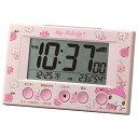 リズム時計 8RZ166MY13(ピンク) 電波目覚まし時計 マイメロディR166
