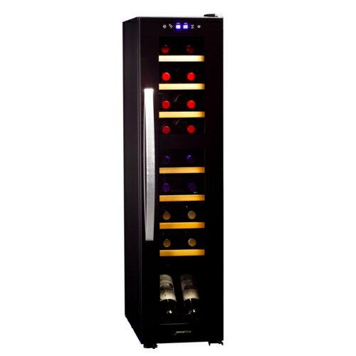 デバイスタイル DCF-C18W ツインルーム18本用ワインセラー コンプレッサー式
